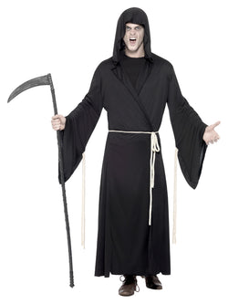 Men's Scary Grim Reaper Costume - The Halloween Spot