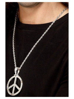 6'0s Peace Sign Hippie Medallion
