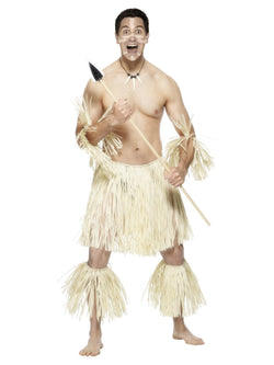 Men's Zulu Warrior Costume - The Halloween Spot