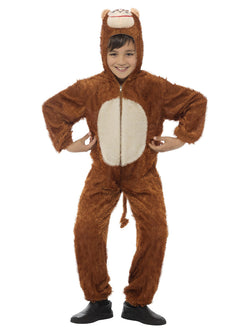 Unisex Adult Brown Colour Monkey Costume