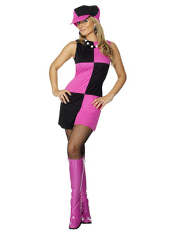 Women's Swinging 60s Costume - The Halloween Spot