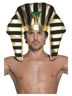 Black and Gold Pharaoh Headpiece