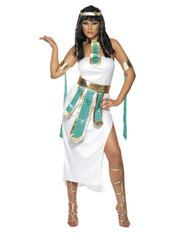 Women's Jewel Of The Nile White Costume