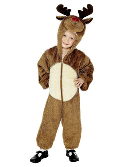 Brown hooded Reindeer Costume For Kids