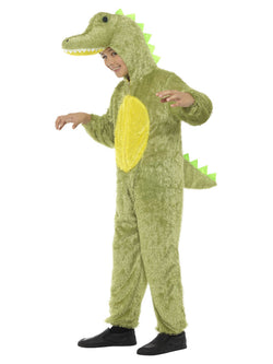 Unisex Crocodile Costume Green Colour
