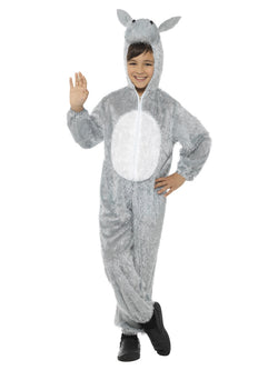 Unisex Grey Colour Donkey Costume