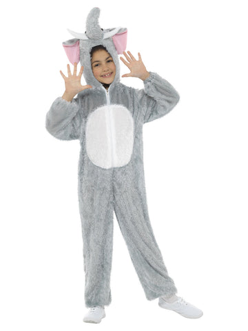 Kid's Elephant Costume in grey colour