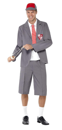 Grey Schoolboy Costume