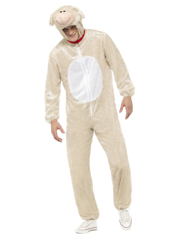 Smiffyu0027s Lamb Costume  sc 1 st  The Halloween Spot & Adult Sheep Costume | Lamb Costume Halloween u2013 The Halloween Spot