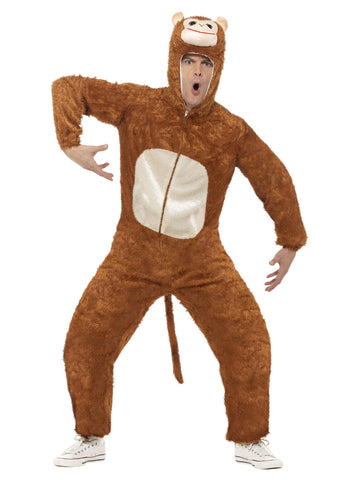Unisex Monkey Costume, Adult