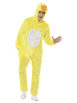 Unisex Yellow Duck Costume with Jumpsuit