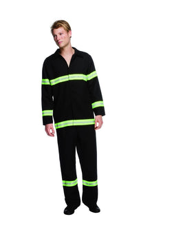 Men's Fever Fireman Costume - The Halloween Spot
