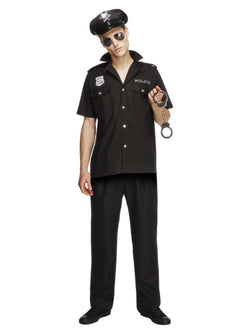 Men's Fever Cop Costume - The Halloween Spot