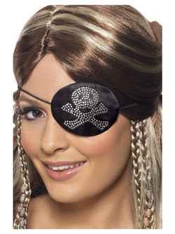 Black Skull Pirates Eyepatch