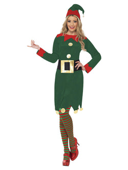 Women's Elf Costume green colour