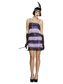Women's Fever Flapper Pruple Colour Costume