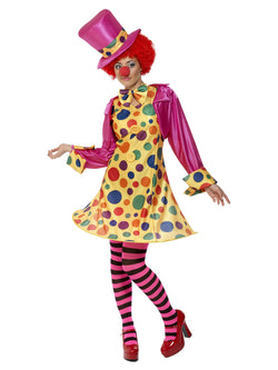 Women's Plus Size Clown Lady Costume