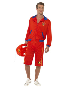 Men's Baywatch Beach Men's Lifeguard Costume