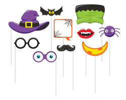Halloween Party   Photo Props  10 Ct. - The Halloween Spot