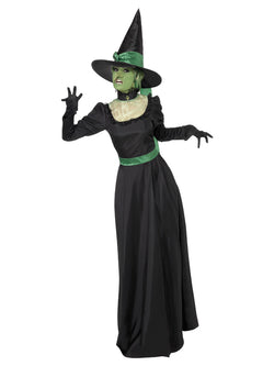 Women's Black Witch Costume Set