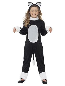 Girl's Cool Cat Costume - The Halloween Spot