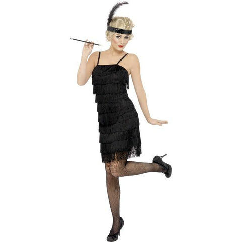 Women's Fringe Flapper Costume