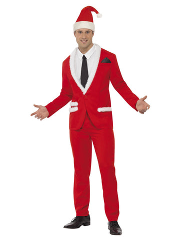 Men's Santa Cool Costume Red Colour