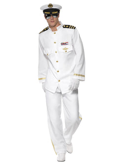 Men's Plus Size Captain Deluxe Costume - The Halloween Spot