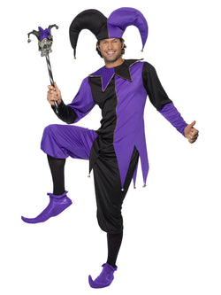 Men's Medieval Jester Costume