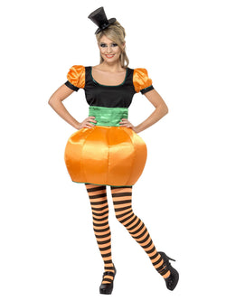 Women's Orange Pumpkin Costume