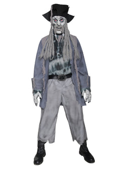 Men's Zombie Ghost Pirate Costume - The Halloween Spot