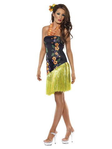 Women's Luscious Luau Costume