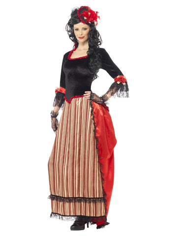Women's Authentic Western Town Sweetheart Costume