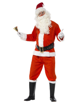 Men's Deluxe Santa Costume - The Halloween Spot