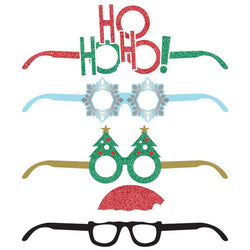 Deluxe Christmas Party Favor Paper Glasses 4 Ct.