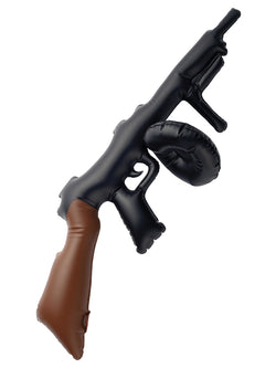 Black Inflatable Tommy Gun