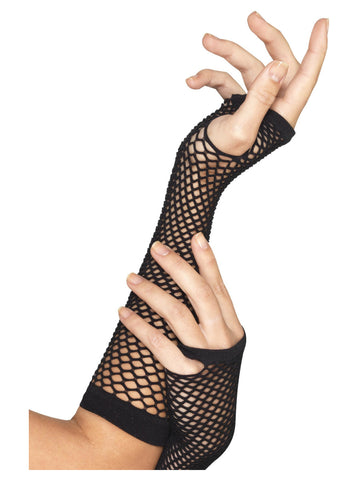 Fishnet Gloves, Long