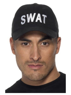 Swat Baseball Cap Black Colour