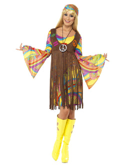 Women's Plus Size 1960s Groovy Lady - The Halloween Spot