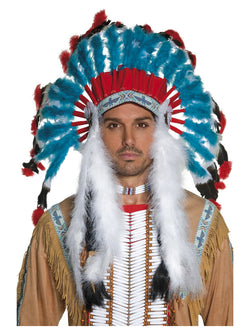 Men's Native American Inspired Headdress