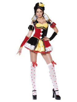 Women's Boutique Queen of Hearts Costume - The Halloween Spot