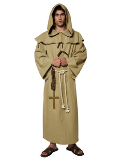 Men's Tales of Old England Friar Tuck Costume