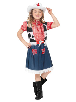 Kids Cowgirl Sweetie Blue Costume