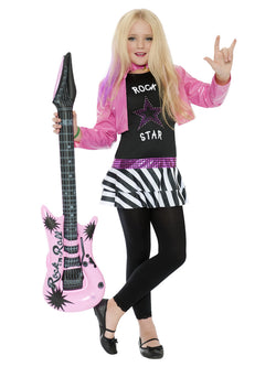 Girl's Rockstar Glam Costume