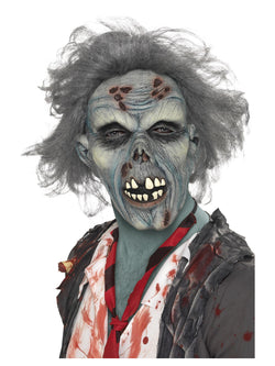 Smiffy's Decaying Zombie Grey Latex Mask