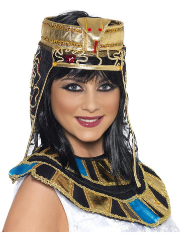 Gold Egyptian Headpiece with snake design