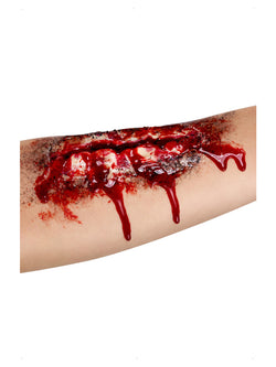 Smiffys Make-Up FX, Open Wound Latex Scar