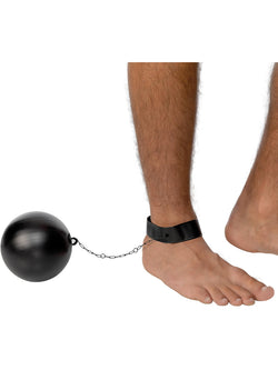 Black Ball and Chain for Convicts and Stags