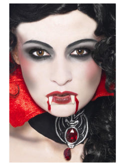White & Red Vampire Make-Up Set