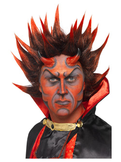 Red and Black Devil Punky Wig